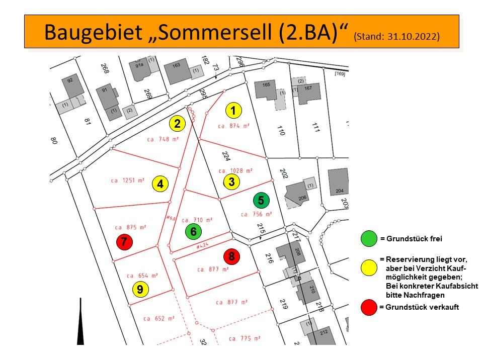 Verfügbare Baugrundstücke in Nieheim-Sommersell
