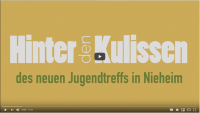 Hinter den Kulissen des neuen Jugendtreffs in Nieheim